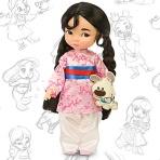 Mulan-Animator-Doll