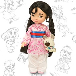 Mulan-Animator-Doll