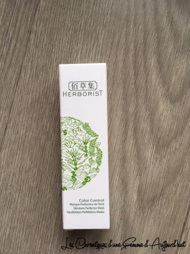 Birchbox - Herborist Masque Perfecteur de Teint