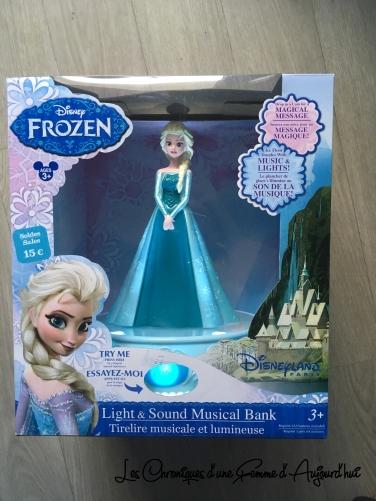 Disney Soldes 2017 - Tirelire Frozen Elsa 2
