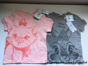 T-shirt Disney Kiabi 2