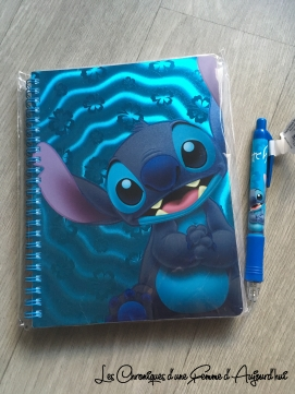 Carnet Stitch Disney