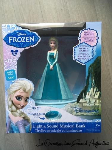 Disney Soldes 2017 - Tirelire Frozen Elsa