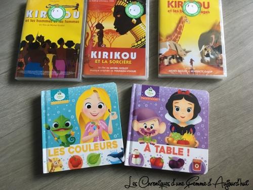 Promotions Fnac DVD Kirikou + Nouveaux Livres Disney
