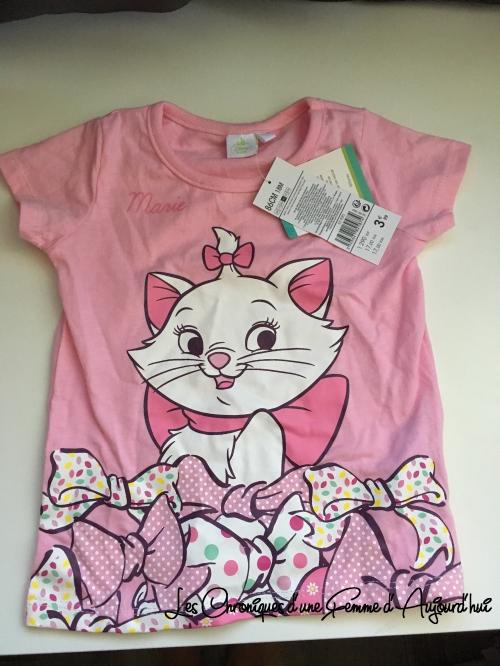 T-Shirt Marie Disney Aucha