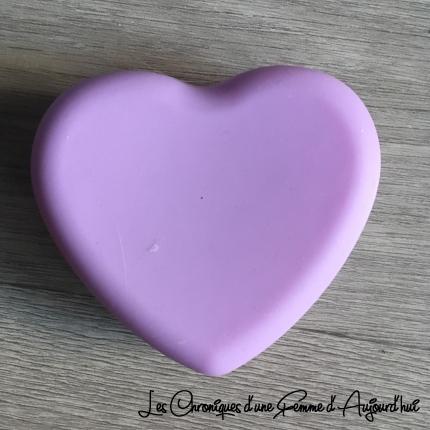 Nettoie Pinceaux Maquillage Coeur Mauve - Wish