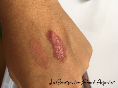 Wish - Rouge à lèvre - NYX Lingerie - Swatch
