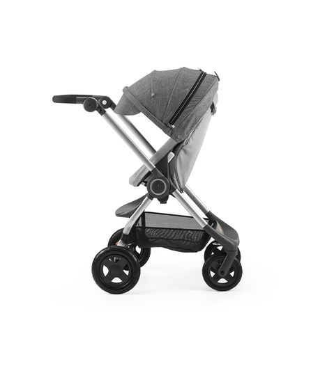 Stokke Scoot 161007-9569 Black Melange on Grey Melange Parent Active.SP_35476